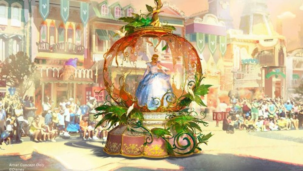 Get a Sneak Peek at Disneyland's New Parade!