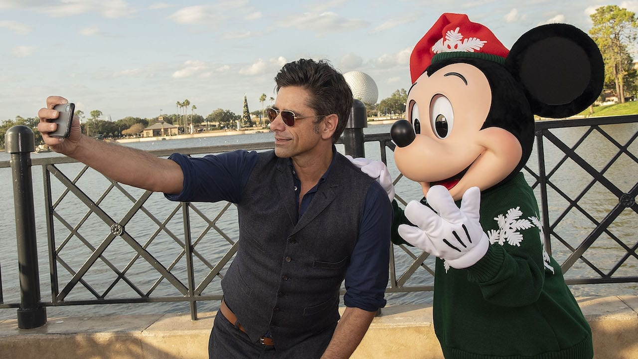 See John Stamos's Massive Disney Collection