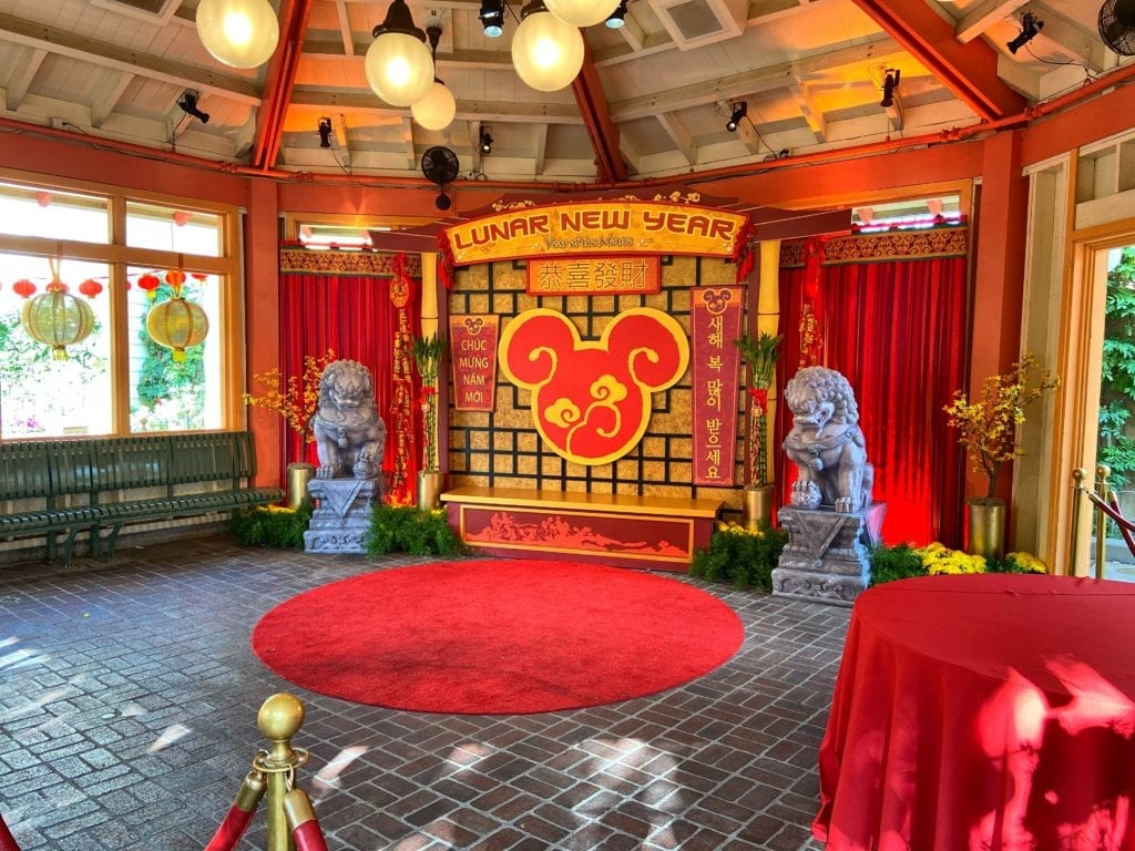 Lunar New Year Character Greet