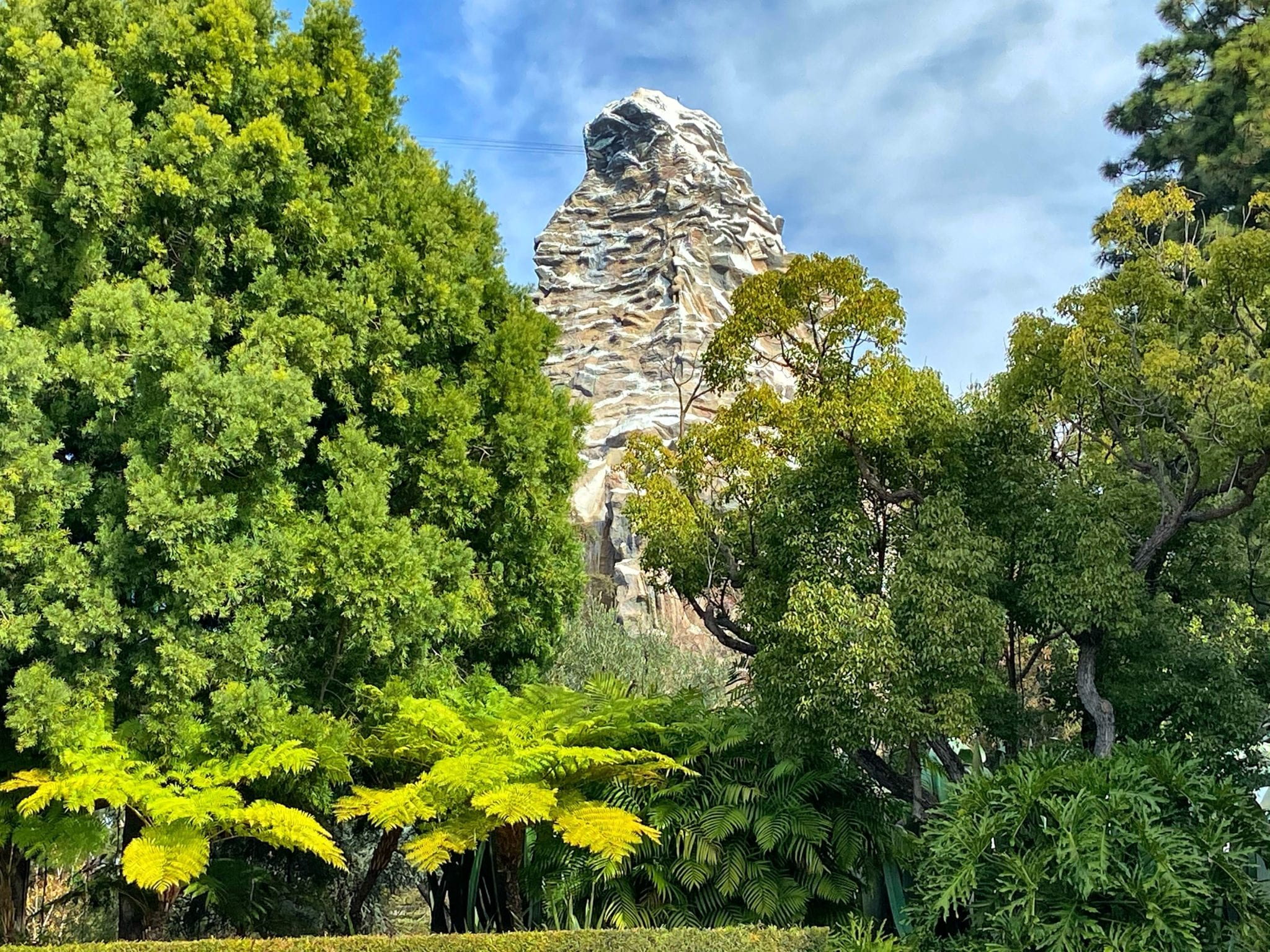 Matterhorn Mountain Disneyland