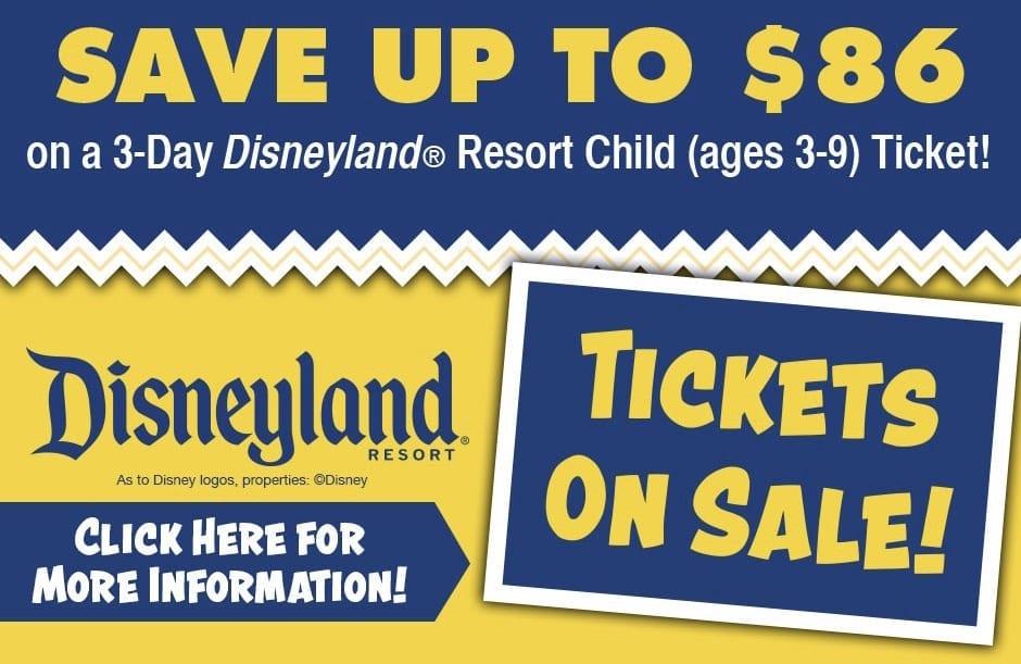 Amazon Disneyland Tickets