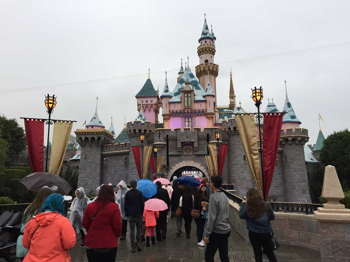 Disneyland in the Rain - parksavers.com