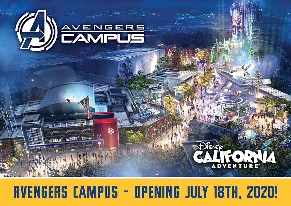 Avengers Campus Opening