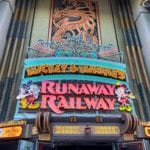 Mickey and Minnie Runaway Railway Entrance
