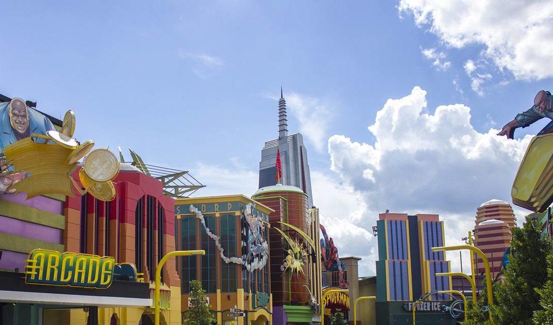 Marveland Disneyland buildings