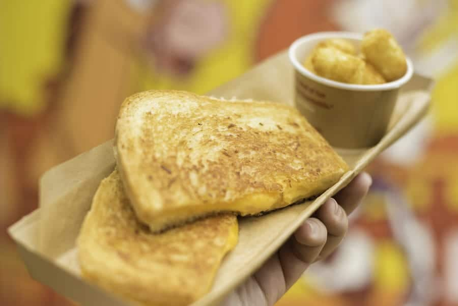 Toy Story Land: Grilled Three-Cheese Sandwich Recipe