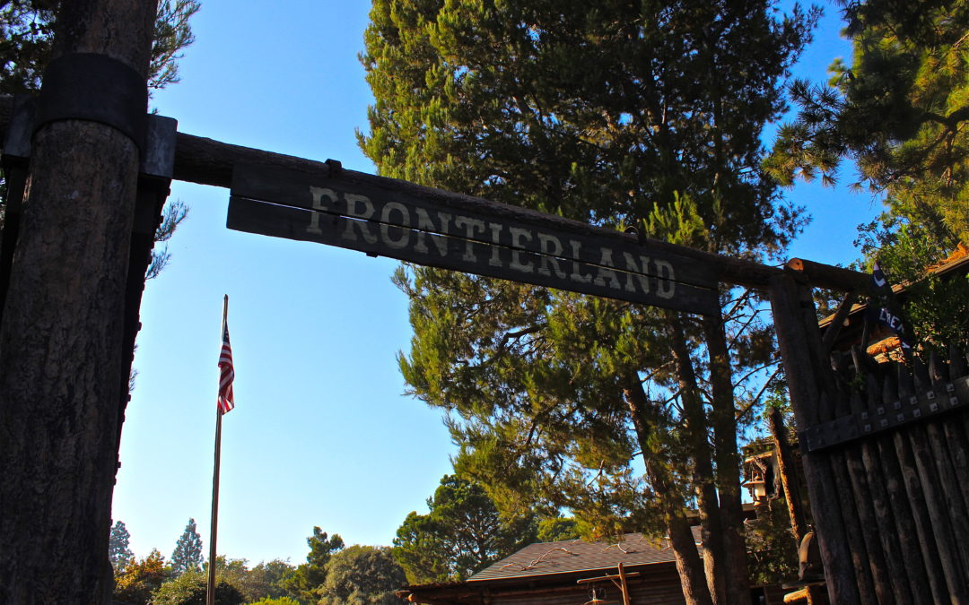 Frontierland Entrance Refurbishment