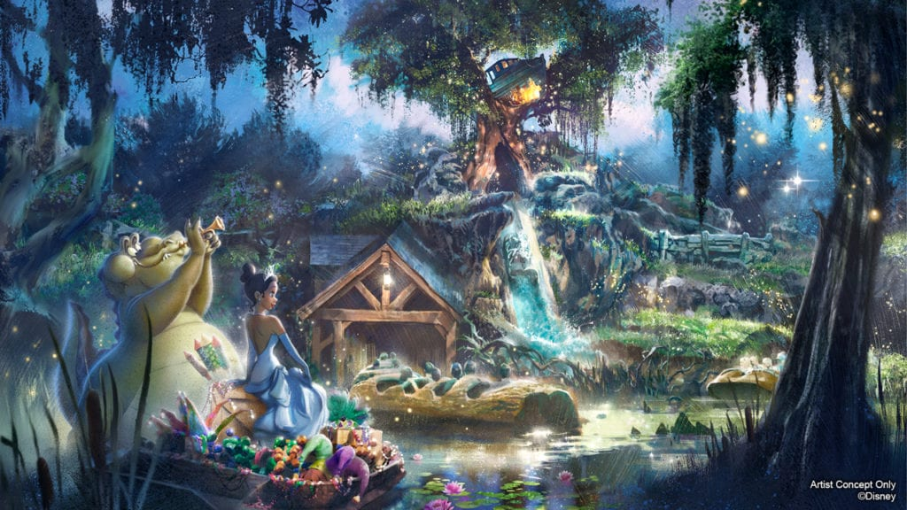 Princess and the Frog Attraction