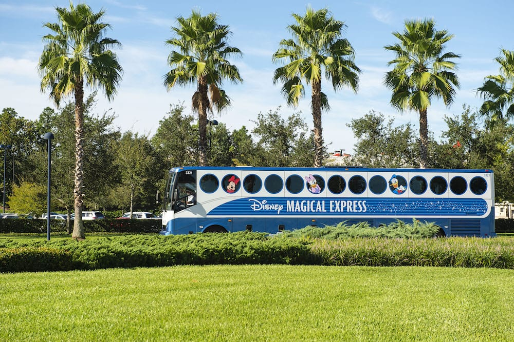 Disney Modifies Their Magical Express Service