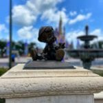 Mini statue in Magic Kingdom
