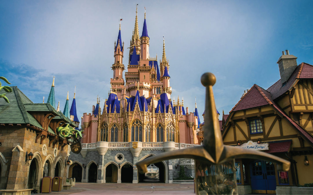 Cinderella's Castle Makeover Now Complete at Magic Kingdom