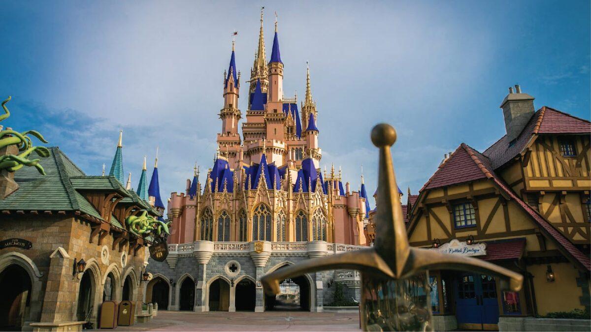 Cinderella's Castle Makeover Now Complete at Magic Kingdom