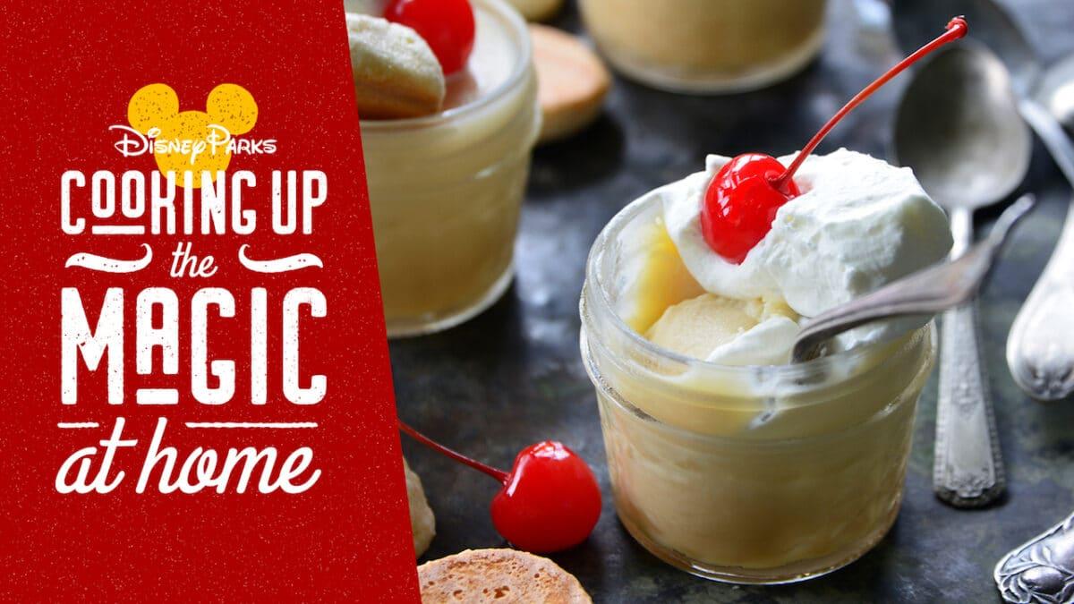 Disney Recipe – Roasted White Chocolate Budino