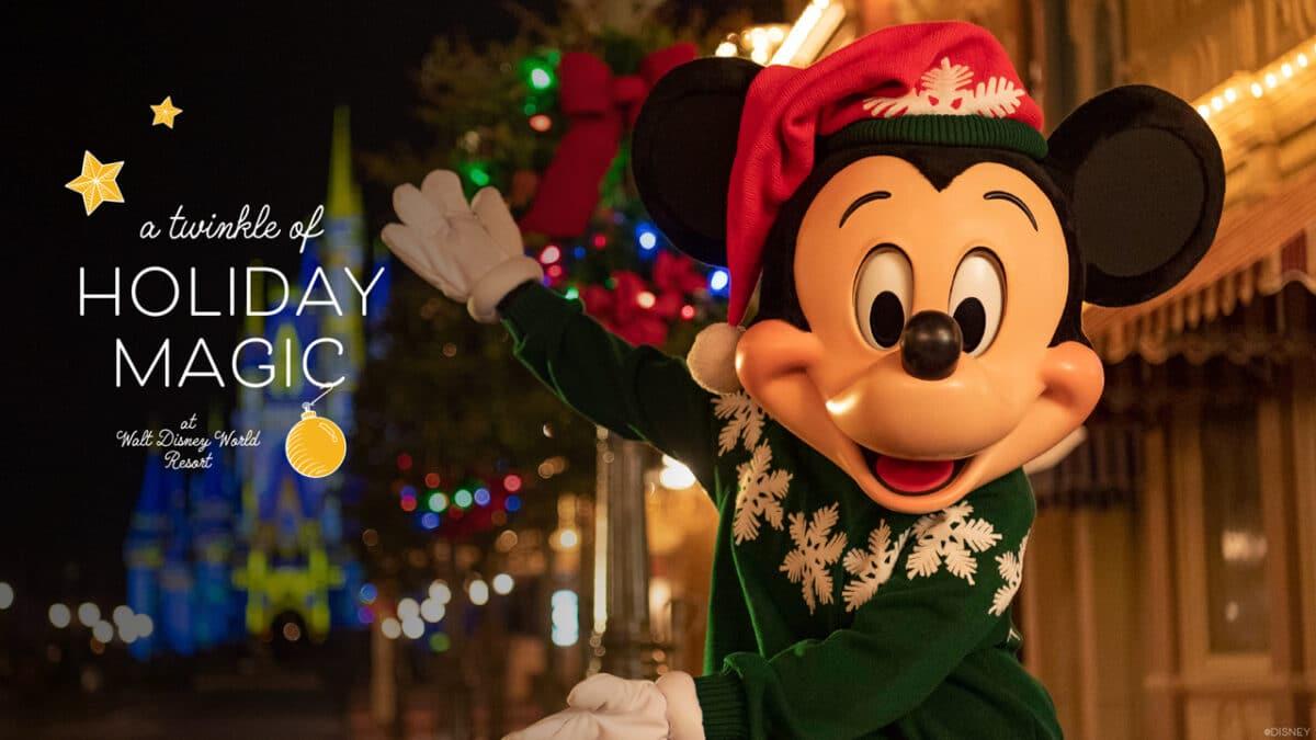 Walt Disney World Resort Holidays Start Nov. 6