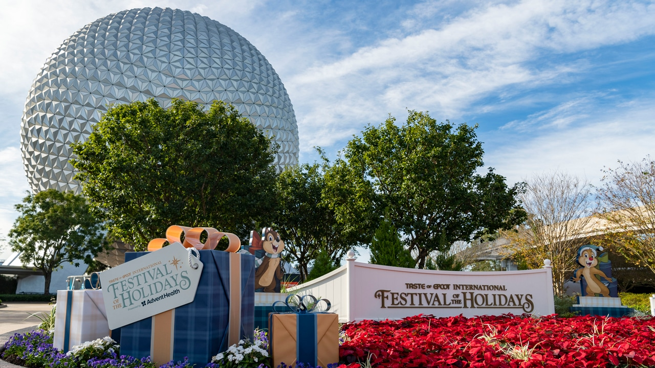 Taste of EPCOT International Festival of the Holidays Now Open