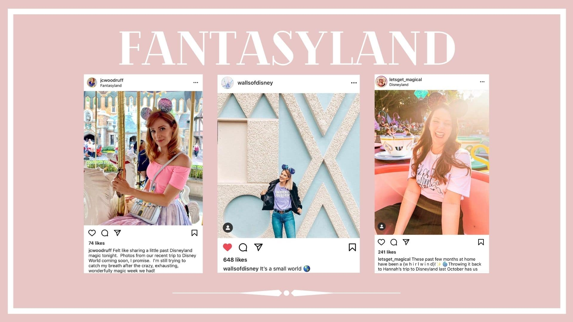 Instagram posts about Fantasyland at Disney