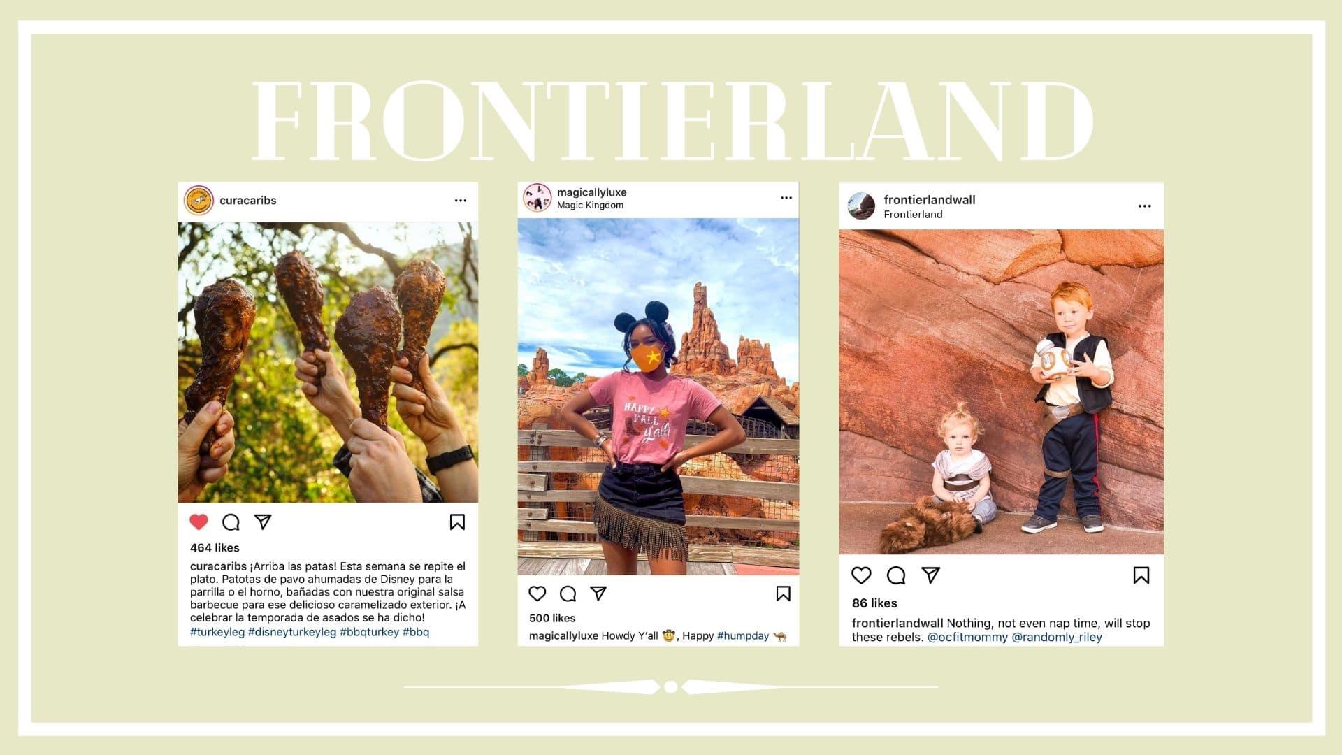 Instagram posts about frontierland at Disneyland