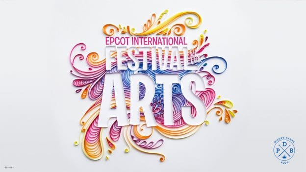 Festival of Arts painted logo