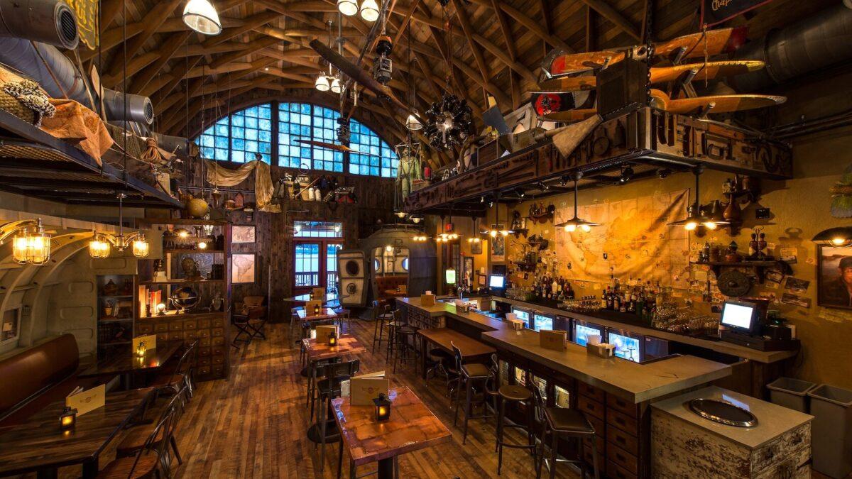 Adventure themed bar
