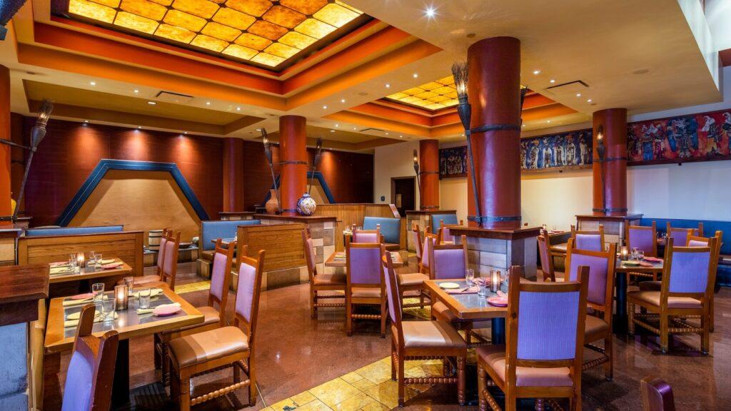 Spanish style restaurant