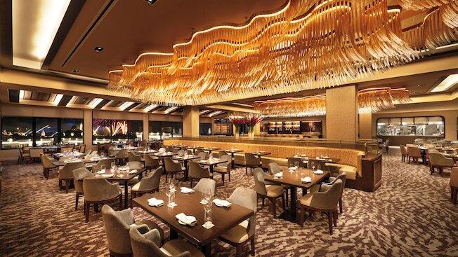 Indoor Riviera Restaurant with tables