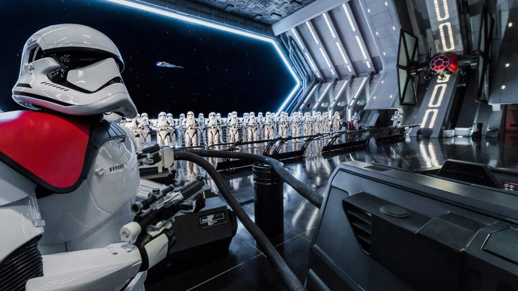 Storm Troopers in a cargo bay