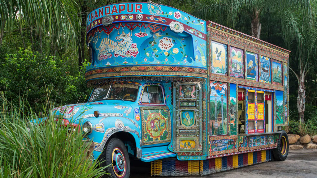 Indian Ice Cream truck