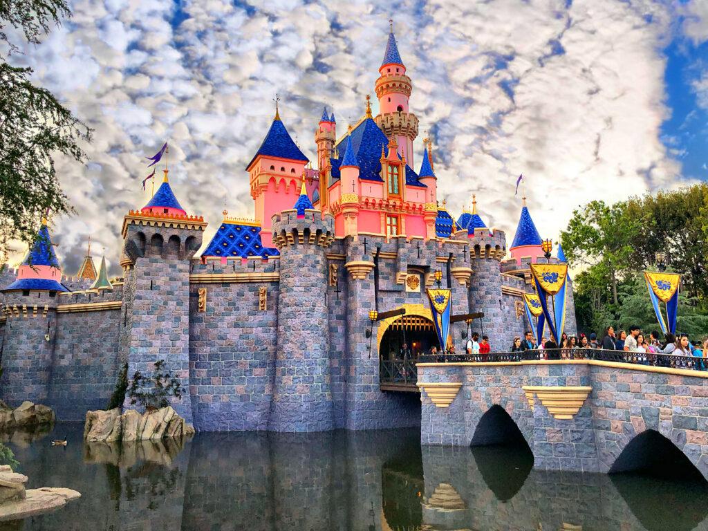 Sleeping Beauty's Castle with bridge