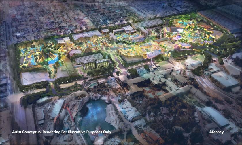 Disneyland Reveals Plans For Resort Expansion