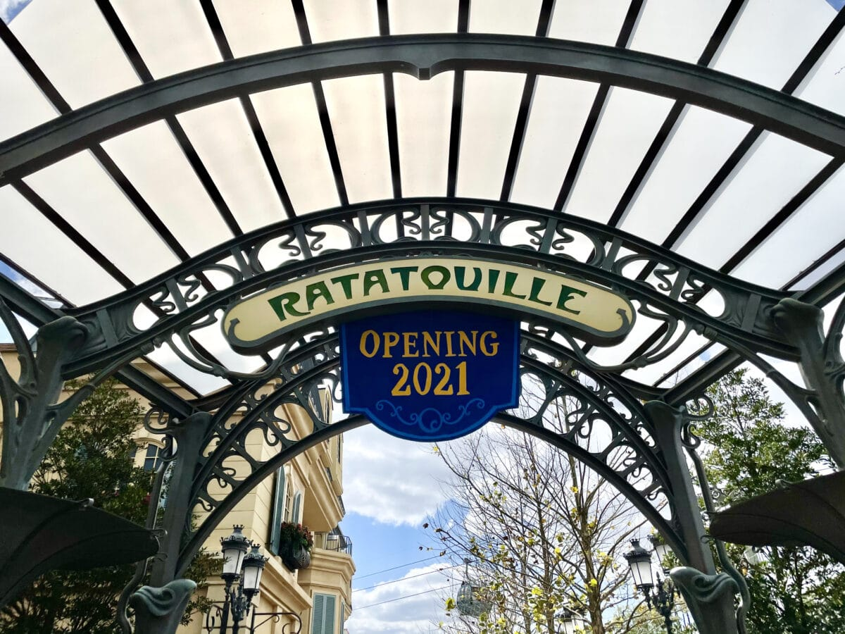 Remy's Ratatouille Adventure and the France Pavilion Expansion at EPCOT
