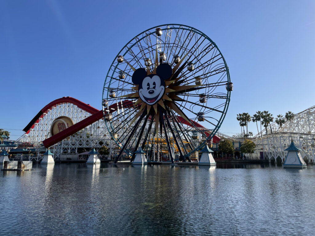 Giant Mickey Ferris Wheel
