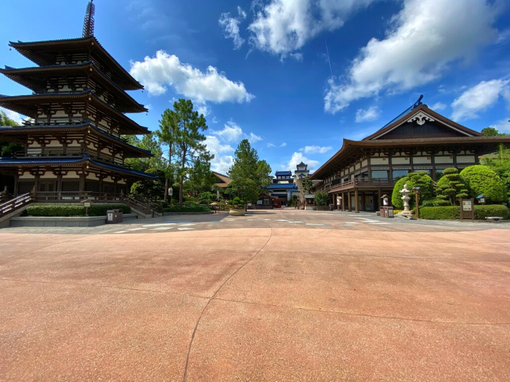 Japanese Buildings at Epcot