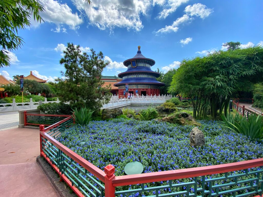 Chinese buildings and gardens