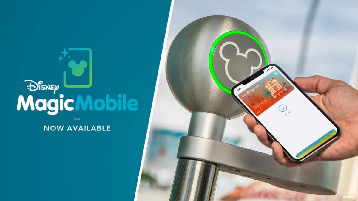 Disney World Launches MagicMobile Service
