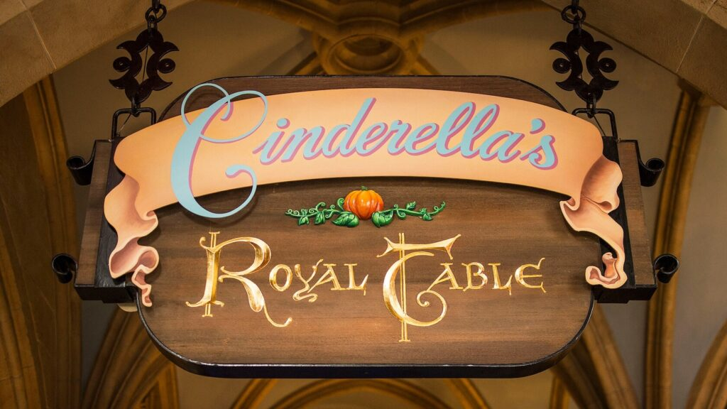 Restaurant dining signage