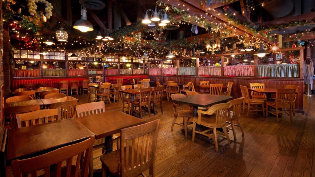 Italian Dining indoor seating