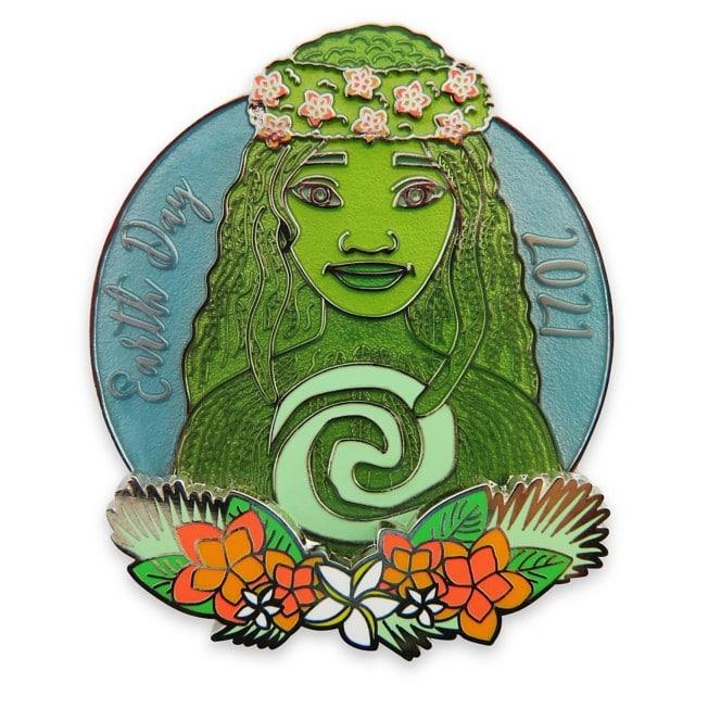 Heart of Te Fiti pin in green