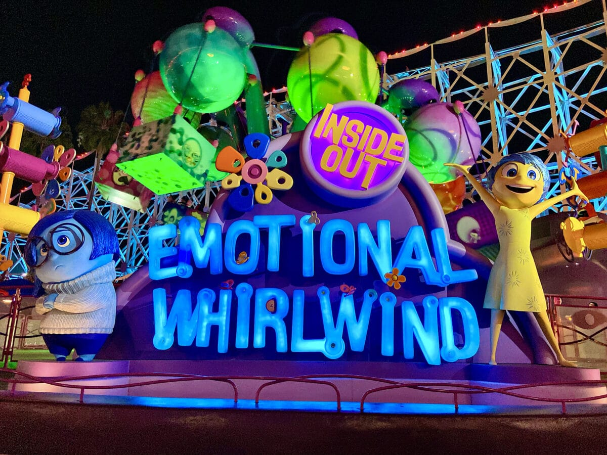 Fear and Disgust on a Disneyland attraction