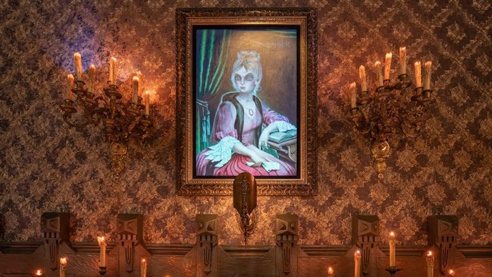 """Disneyland's Haunted Mansion Received Some """"Ghostly"""" Updates"""