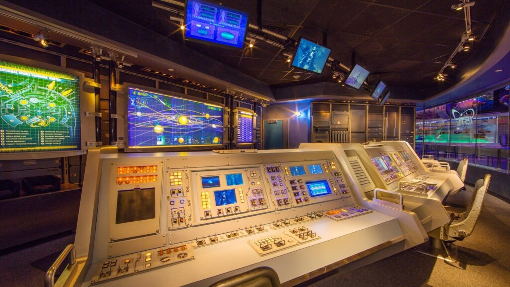 Control room for Spaceship