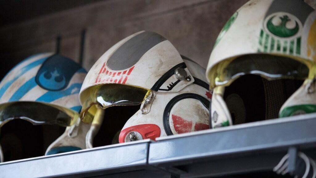 Resistance fighter helmet