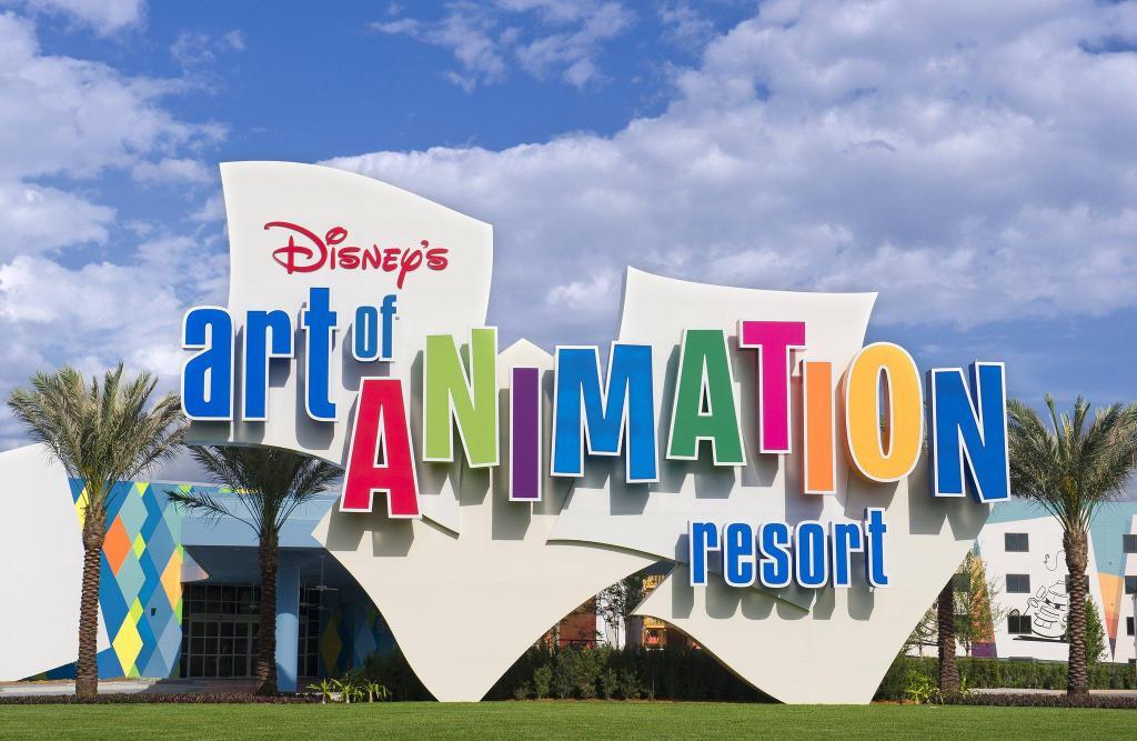 Art of Animation Hotel signage