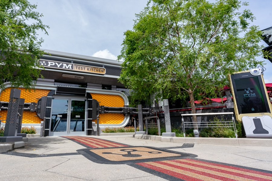PYM Test Kitchen building
