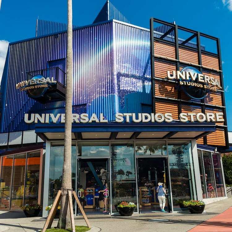 Exterior of Universal Store