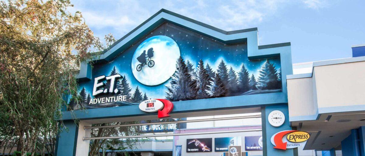 E.T. Adventure attraction entrance
