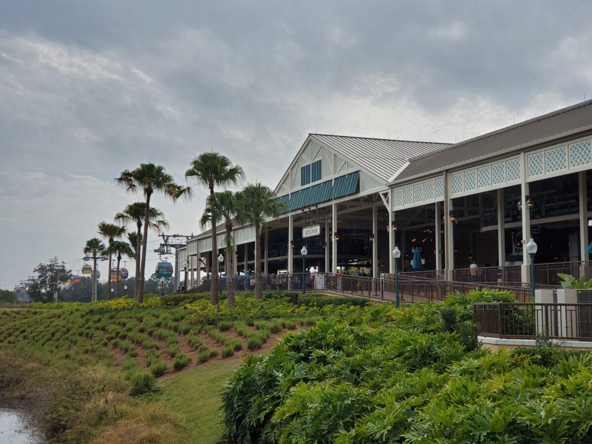Caribbean Resort with foliage