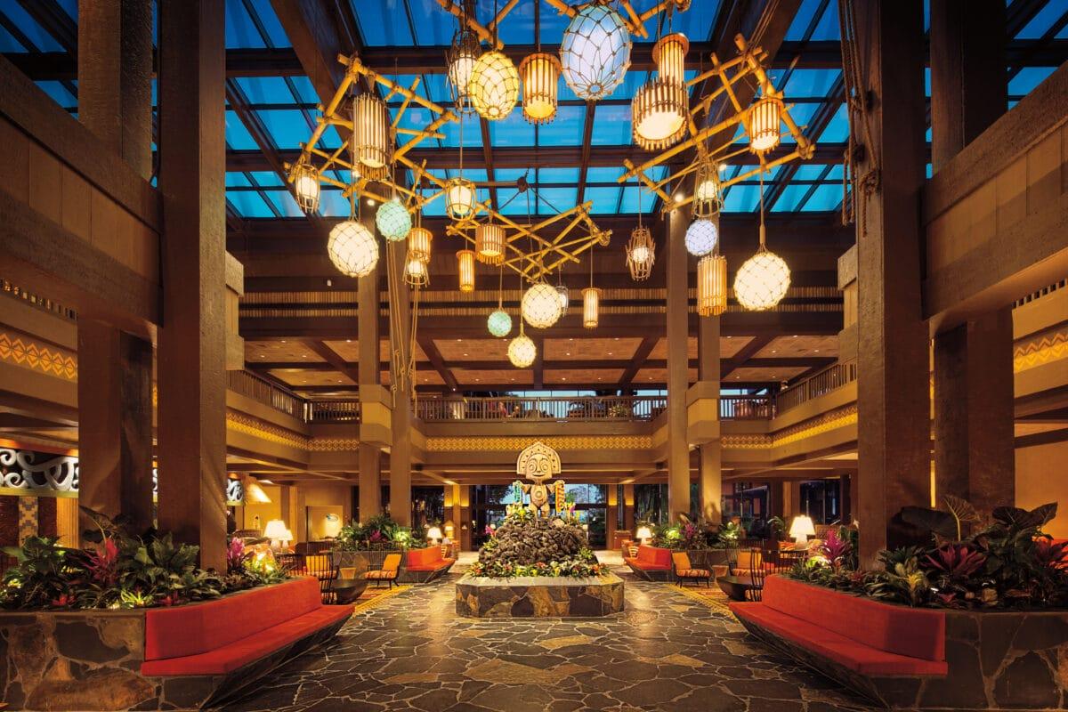 Polynesian Hotel Lobby