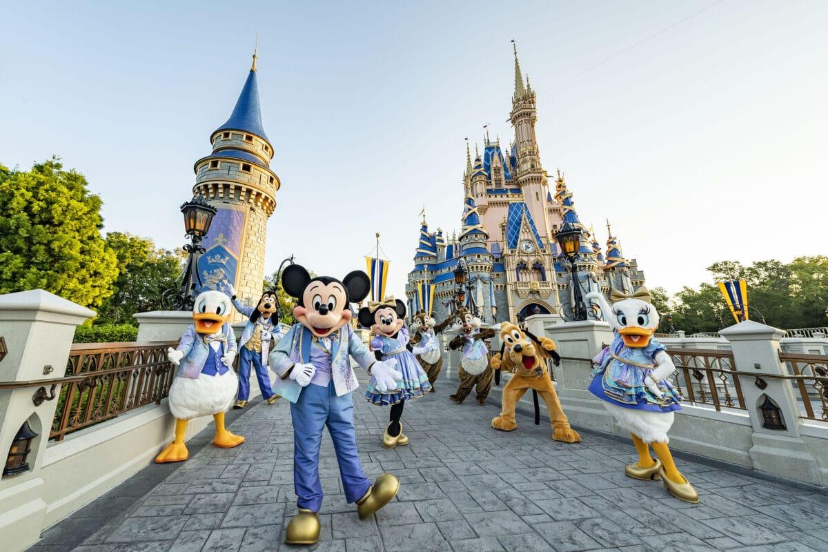Celebrate the 50th Anniversary of Walt Disney World Resort