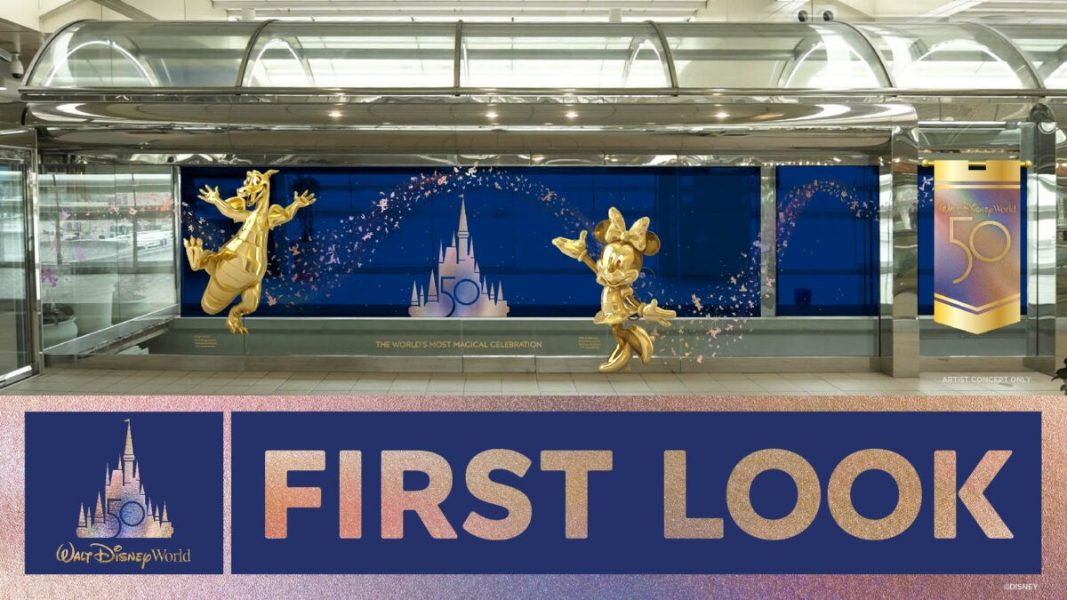 Disney World Resort to Immerse Air Travelers in 50th Anniversary Celebration