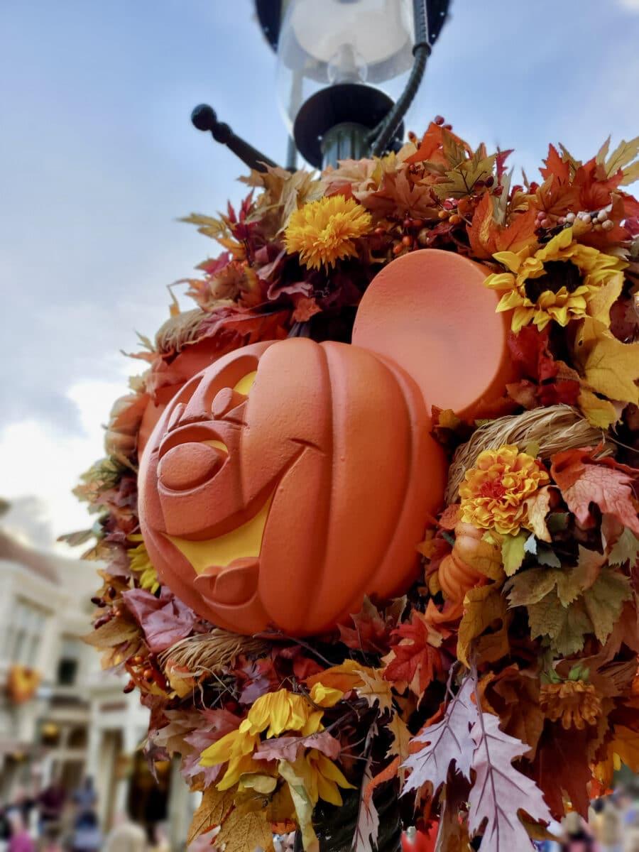 Pumpkin Mickey ornament